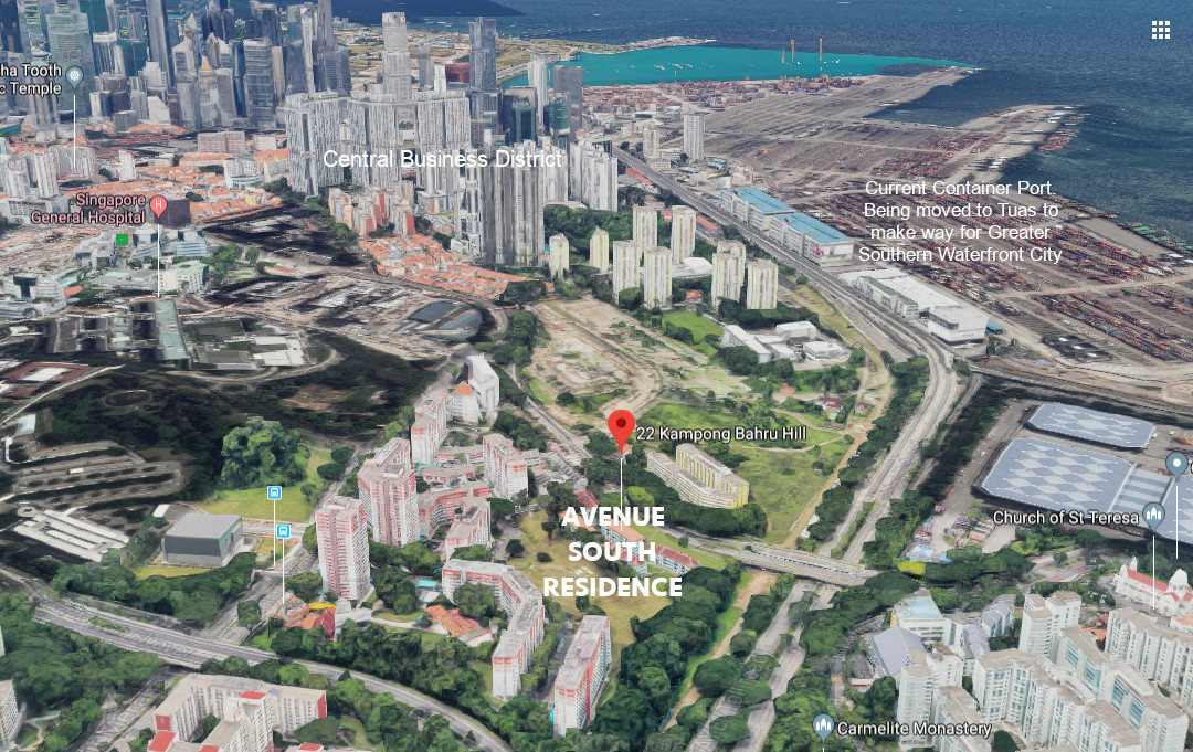 avenue-south-residence-condo-southern-waterfront-view-singapore
